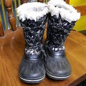 Lil girls snow boots, sz 9